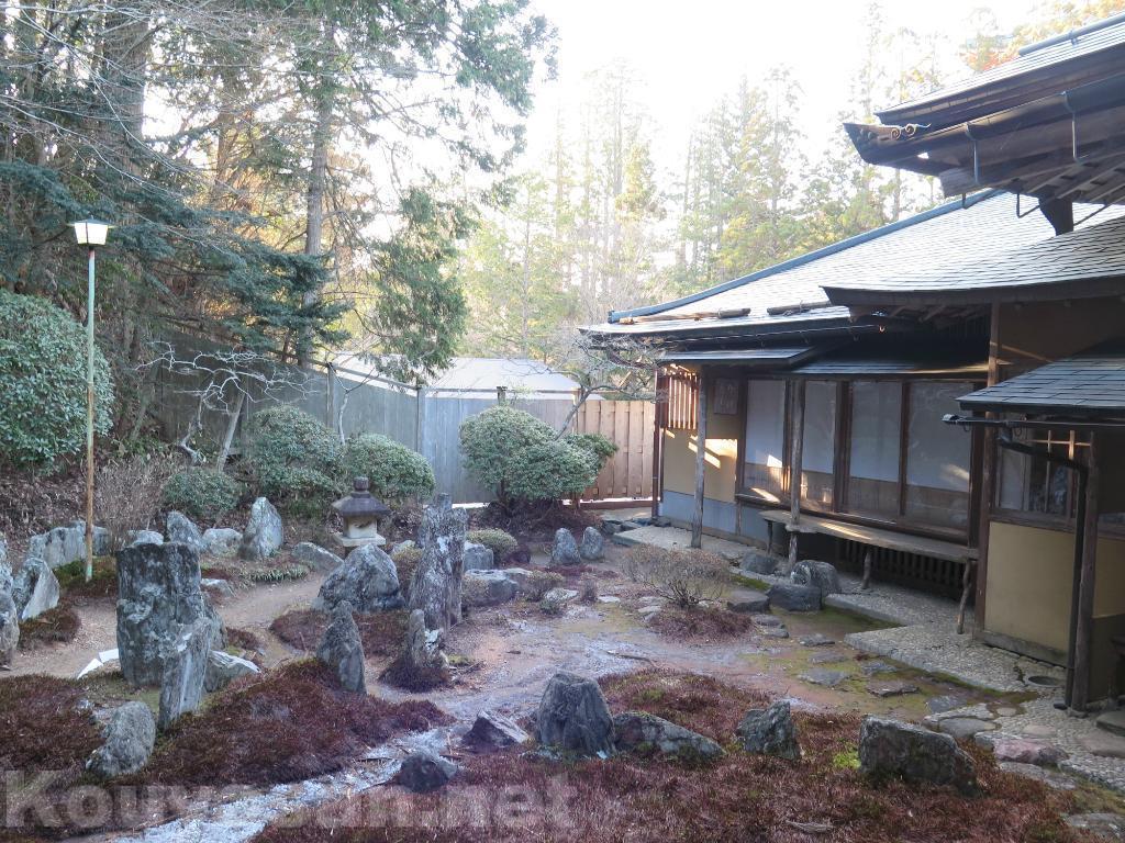 高野山西禅院庭園