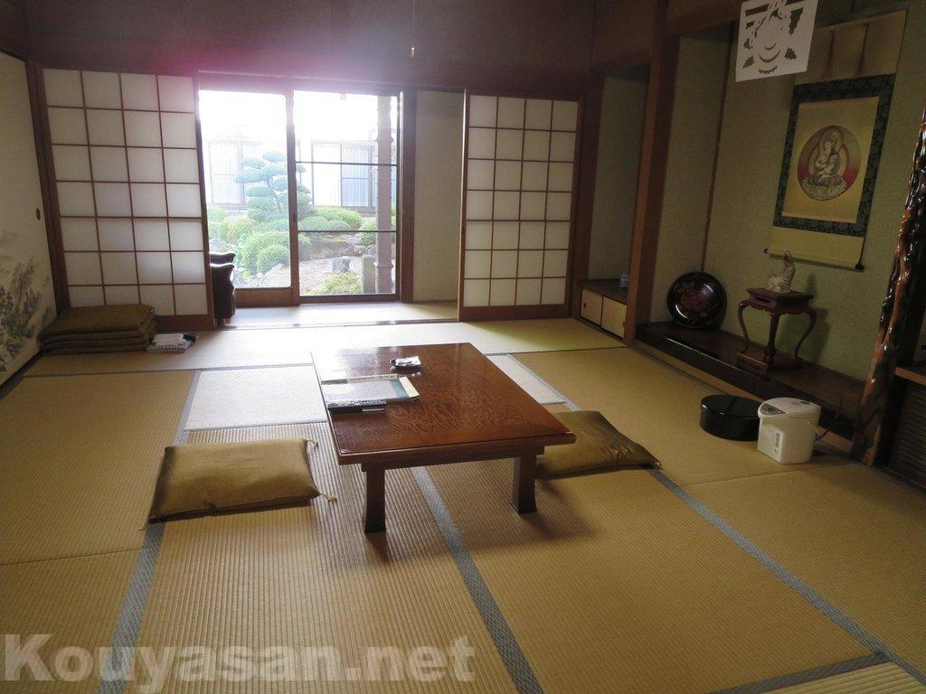 高野山大円院-客室