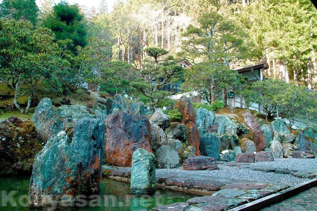 高野山不動院-庭園